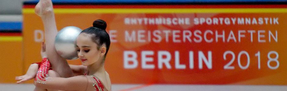 4.-6.5.2018 Deutsche Meisterschaft / Deutsche Jugendmeisterschaft RSG Einzel in Berlin: Die ersten Ergebnisse sind online …